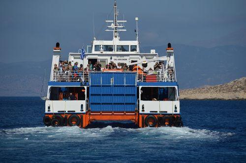 ferry greece chalki
