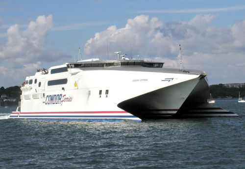 ferry catamaran ship