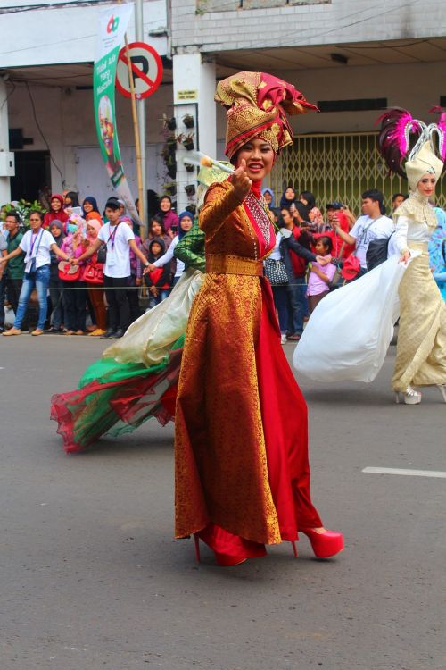 festival people parade