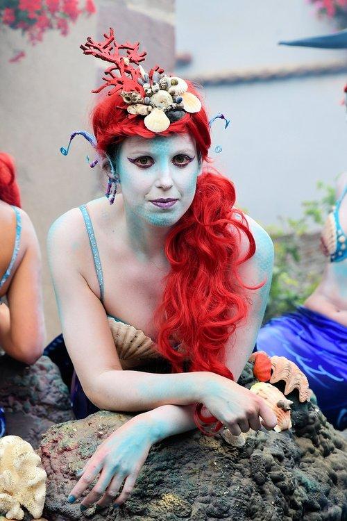 festival  mermaid  disguise