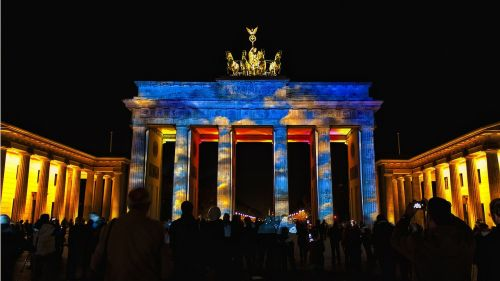 festival brandenburg gate berlin