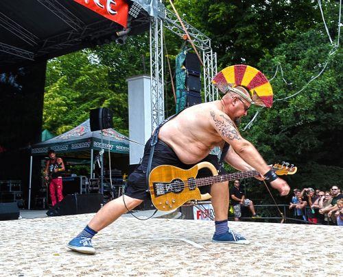 festival concert guitarist