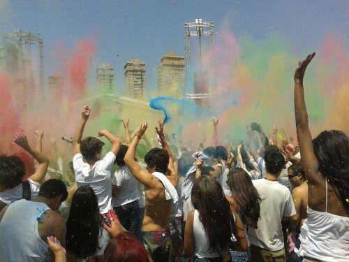 festival of colors joy energy