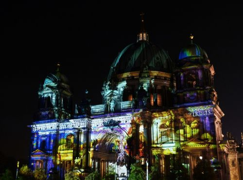 festival of lights berlin cathedral berlin