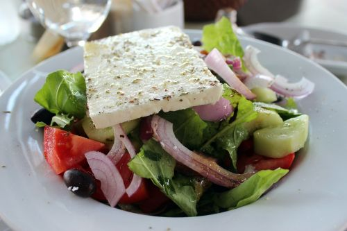 feta cheese greek salad salad