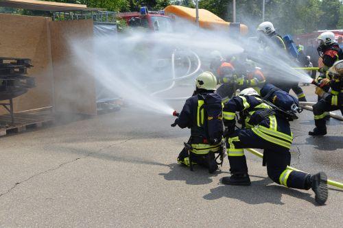 feuerloeschuebung fire respiratory protection