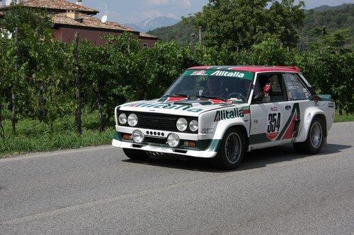 fiat  rally  race