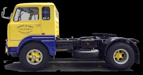 fiat  tractor  truck