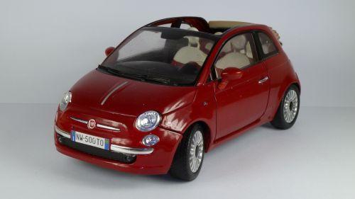 Fiat 500C Nuova Cabrio 2009