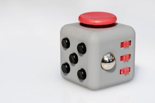 fidget cube vinyl dice toys