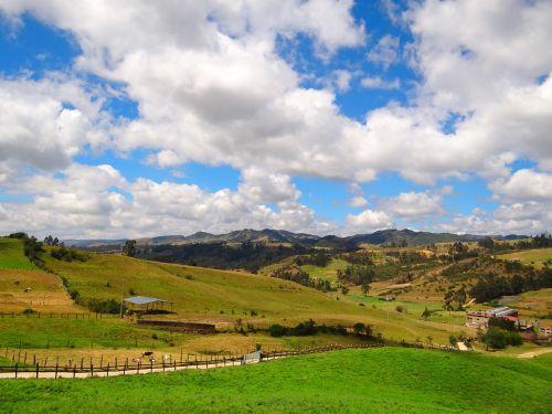field country chocontá