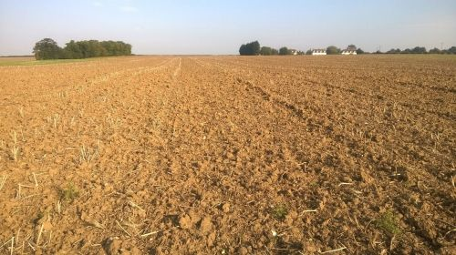 field ploughed suffolk