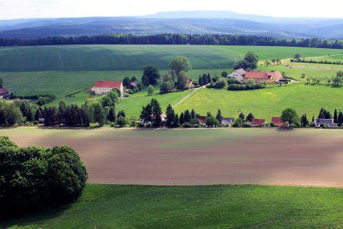 fields view landscape