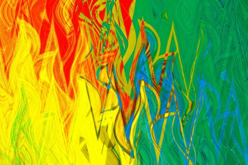 Fiery Image