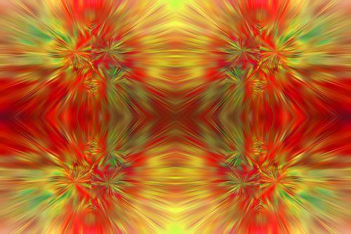 Fiery Repeat Pattern
