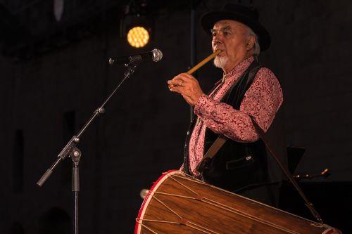 fife tambourine storyteller