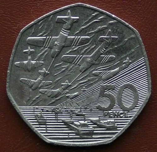 Fifty Pence 1994 Coin