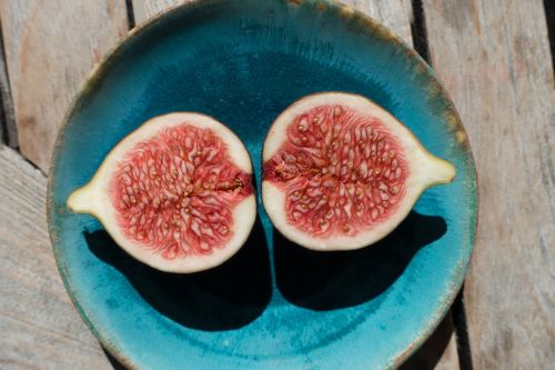 fig sliced plate