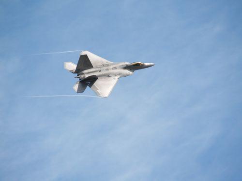 fighter airplane raptor