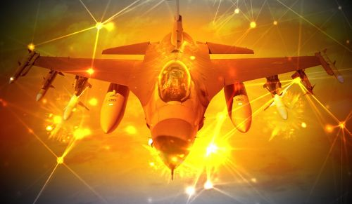 fighter jet f16 military