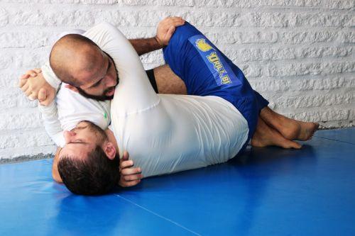 fighters jiu-jitsu fight