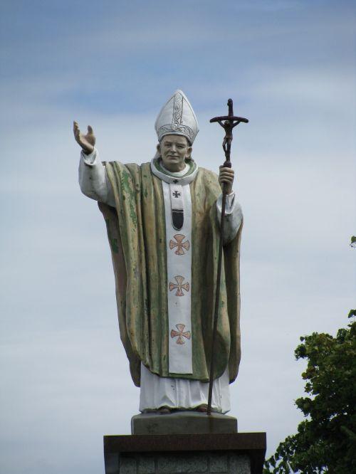 figure pope john paul ii pope