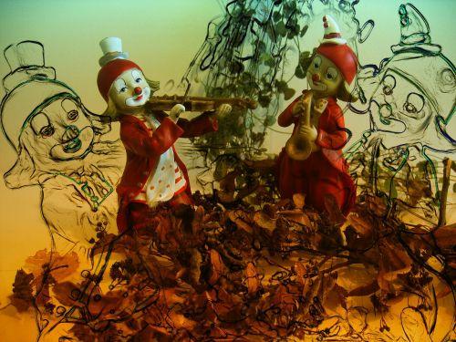 figure clown clowns