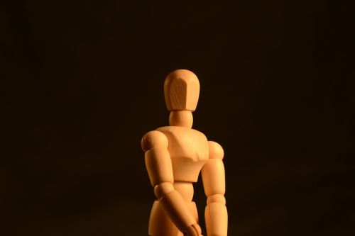 figure posing body