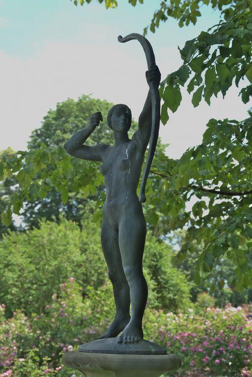 figure woman archer