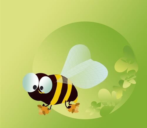 figure vector bee