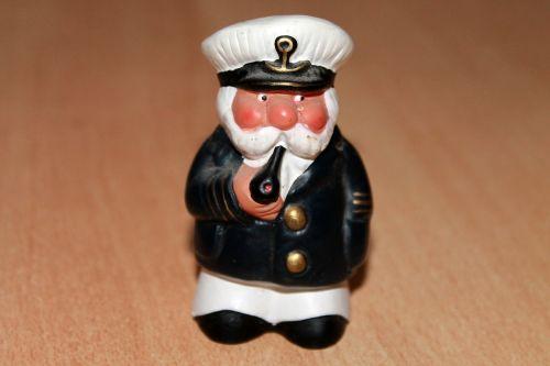 figure captain sailor