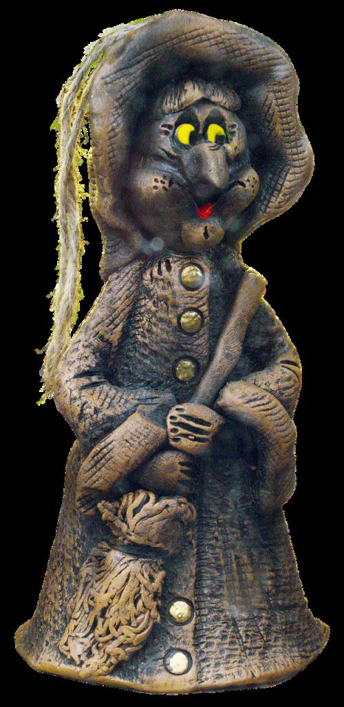 figure the witch ceramic