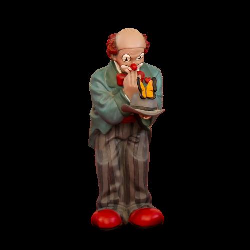 figure clown porcelain