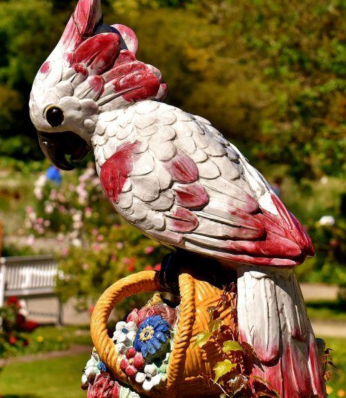 figure parrot bird figurine