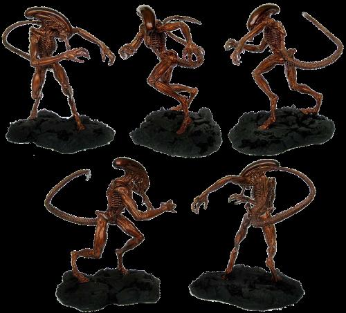 figure alien isolated