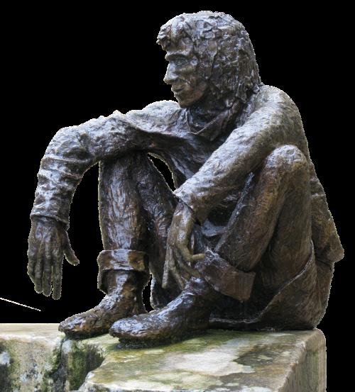 figūra,vyras,bronza,sėdi,siena,bronzos figūra,menas,skulptūra,metalas,meno kūriniai,metalinis,izoliuotas