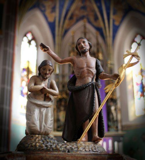 figure sculpture christianity