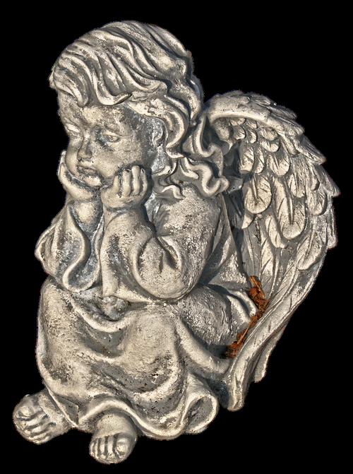 figure  angel  cherub