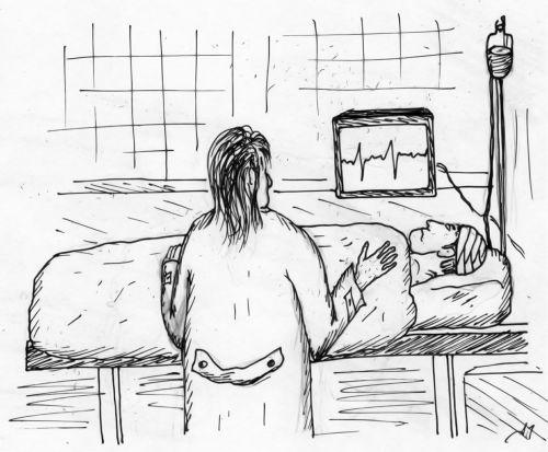figure doctor patient