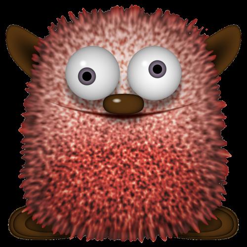 figure fluffy knuddelbär
