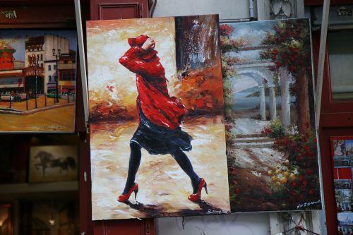 figure montmartre painter