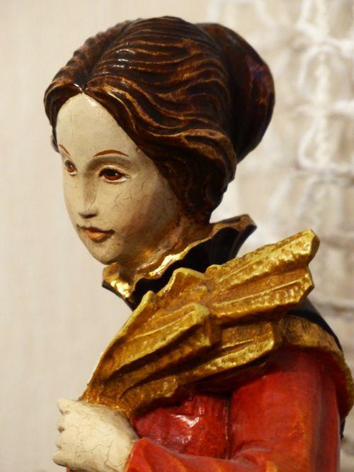 figure woman head