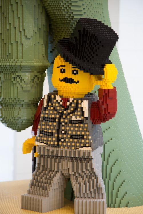 Figure From Lego Pieces