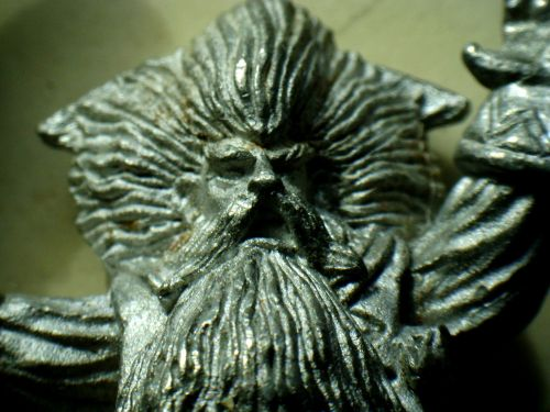 figure of lead magician macro