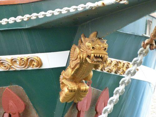 figurehead dragon boat