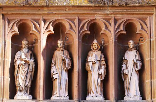 figurengruppe stone figures mariawald