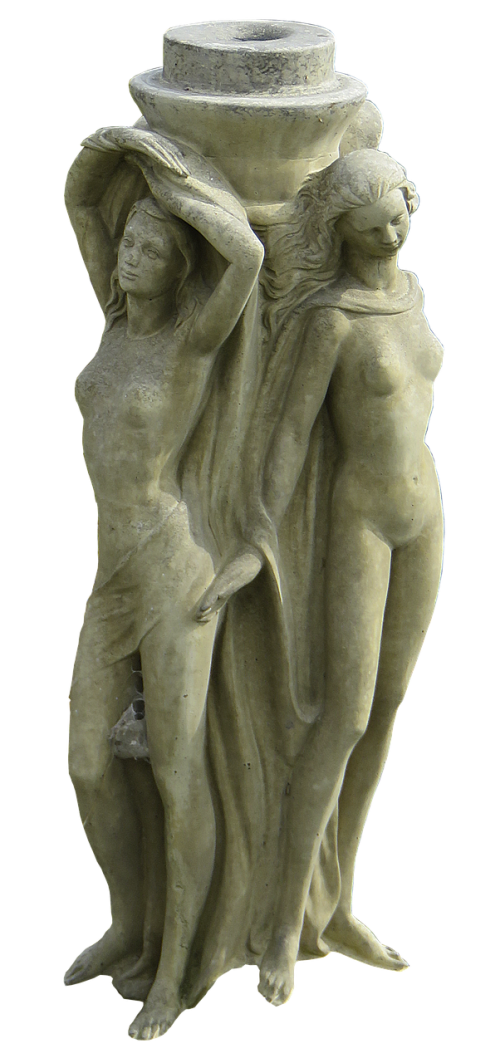 figures fountain figures female