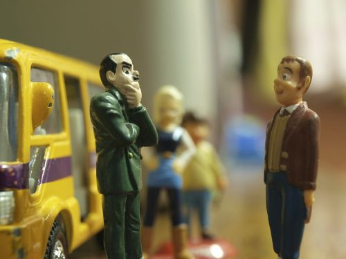 figures toy bus
