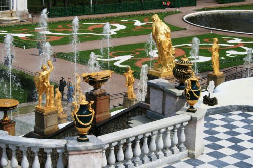Figures, Ornaments, And Fountains