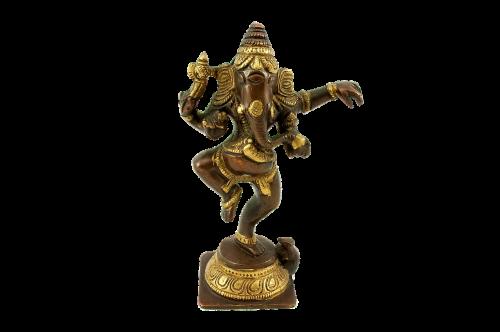 figurine bronze god